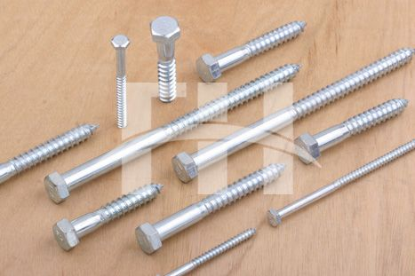 Fasteners For Wood. hex head lag screw/wood